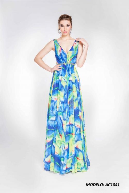 Vestido Alma Couture 1041