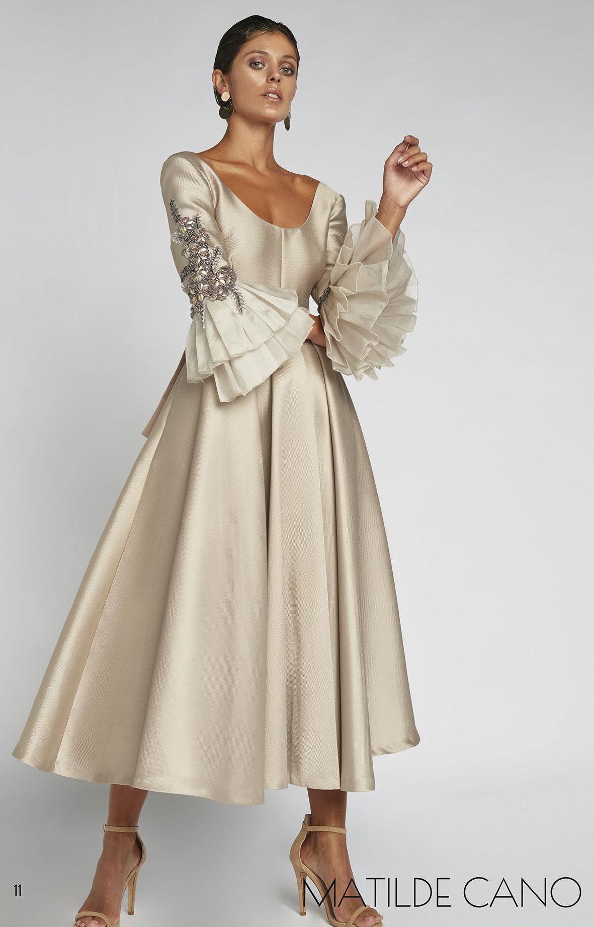 Vestido Matilde Cano 6514 Vista