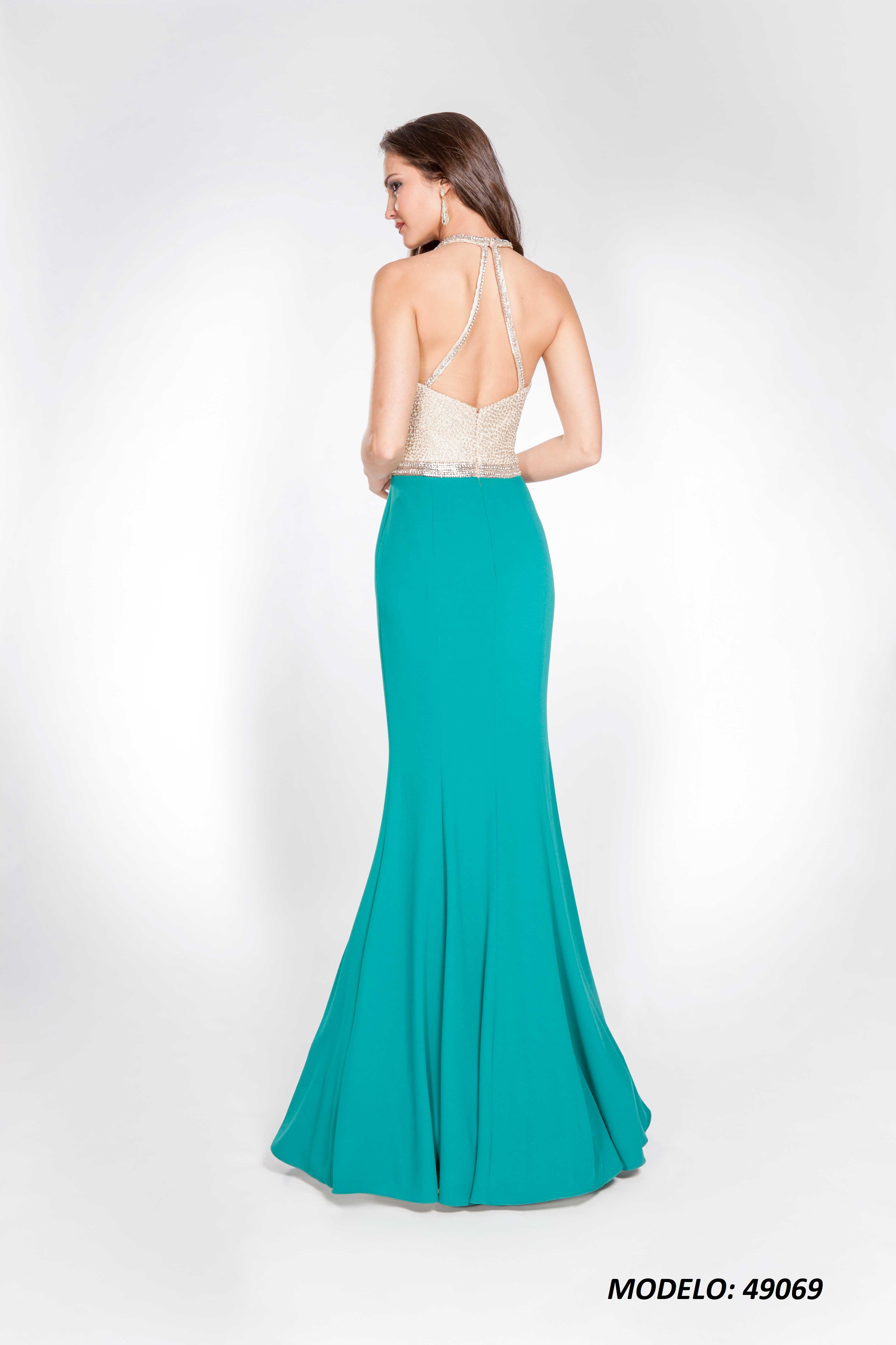 Vestido X&M 49070 espalda
