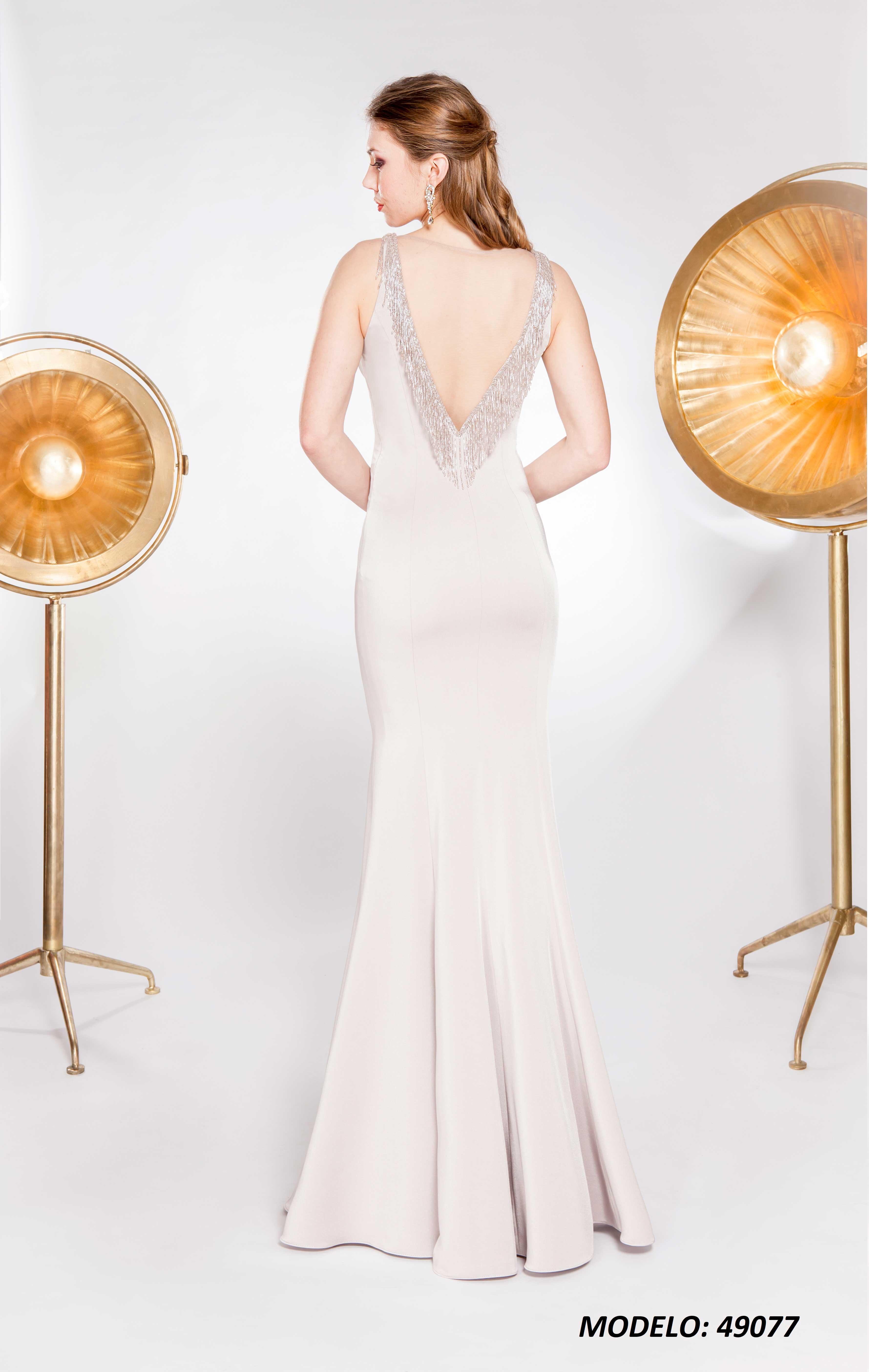 Vestido X&M 49077 espalda