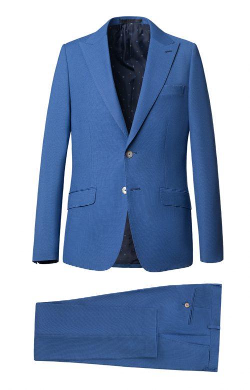 Traje slim fit azul noche Unmberto Bossi 57311-307