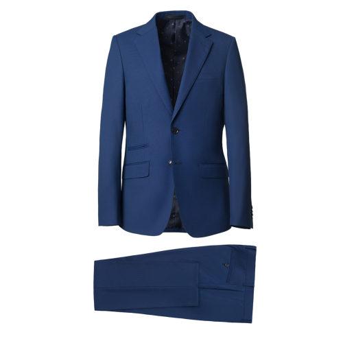 Traje slim fit azul medio Umberto Bossi 57271-311
